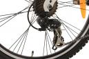 VTT Tout-Suspendu Enfant KS Cycling 4 Masters 24'' Shimano Tourney 7V Noir