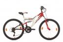 VTT Tout-Suspendu KS Cycling Zodiac 24'' Shimano Tourney 6V Rouge