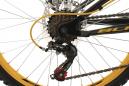 VTT Tout-Suspendu Enfant KS Cycling Bliss 24'' Shimano Tourney 6V Noir Jaune