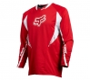 FOX 2011 Maillot Manches Longues TECH MTB Rouge Taille M