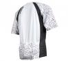 FOX 2011 Maillot Manches Courtes LIVEWIRE Blanc/Noir Taille M