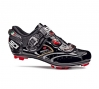 SIDI Paire de Chaussures Dragon 2 SRS Noires vernies Taille 44
