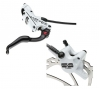 HAYES 2011 Stroker Trail Paire de Freins Blancs+ Disque203mm/180mmPM/IS