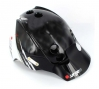 URGE 2011  Casque Endur-O-Matic Flash noir/blanc S/M