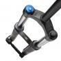 ROCKSHOX 2012 Fork DOMAIN RC 26'' Coil U-TURN 115-160mm 20mm 1'' 1/8 Black