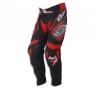 UFO Pantalon Mystic Noir Rouge Taille 44 (US 26)
